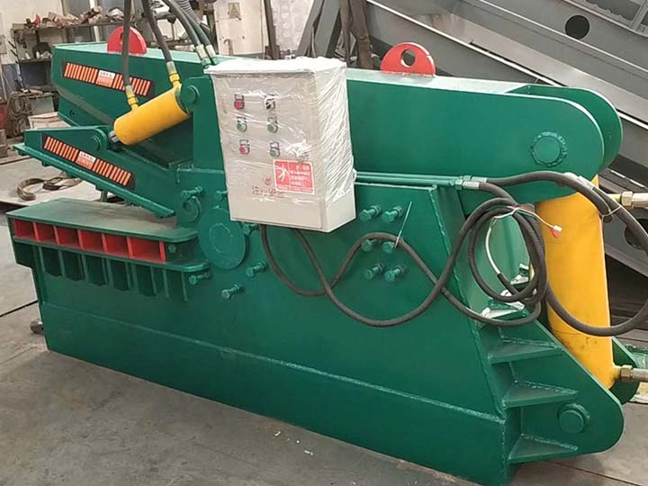 alligator shear、aluminum cutting machine