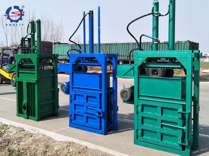 high-output metal baler