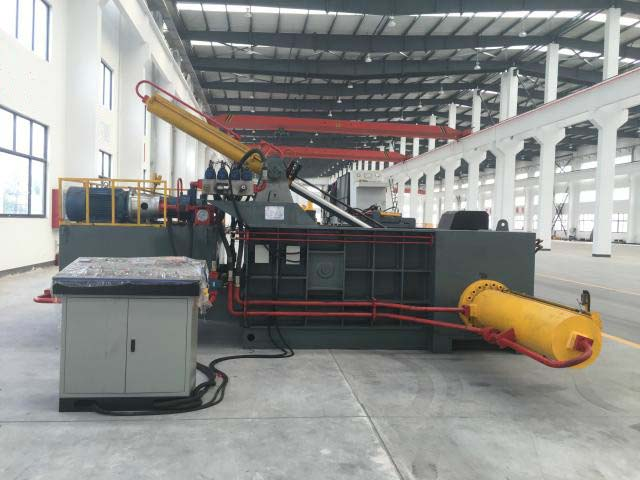scrap metal press machine