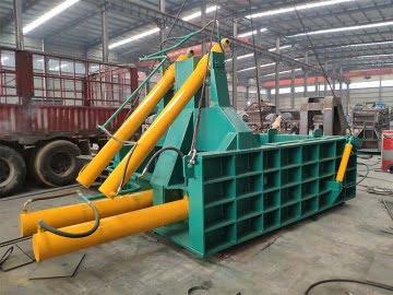 the shipment of this metal baler