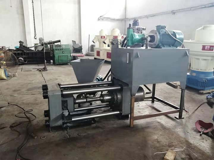 the small output of the Aluminum powder briquetting machine