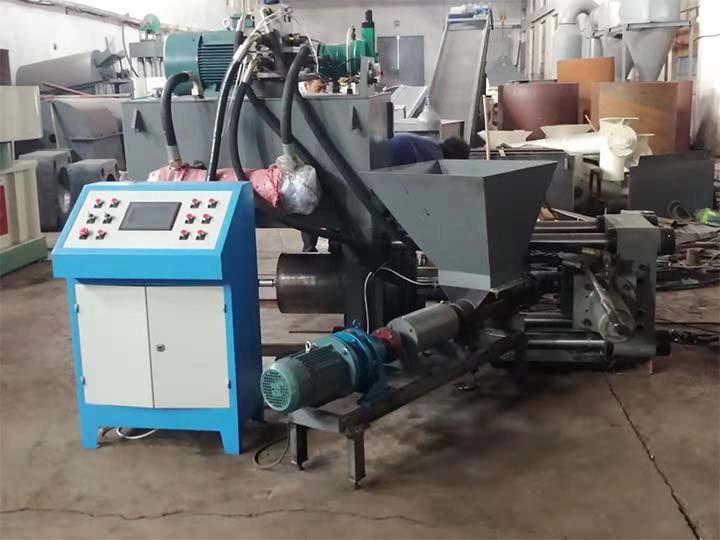 working of the metal press machine