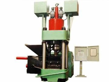 aluminum chip briquetting machine
