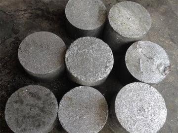 metal chip briquette block