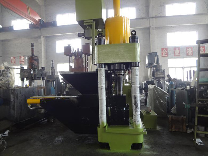 metal chips briquetting machine